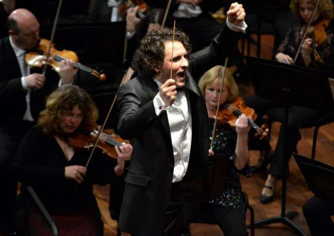 Le chef d'orchestre français Alexandre Bloch.
