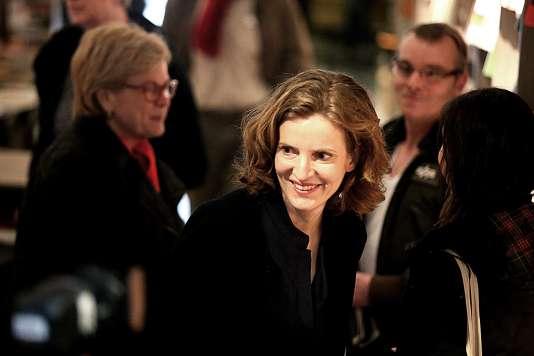 Nathalie Kosciusko-Morizet à Reims le 25 mars 2016.
