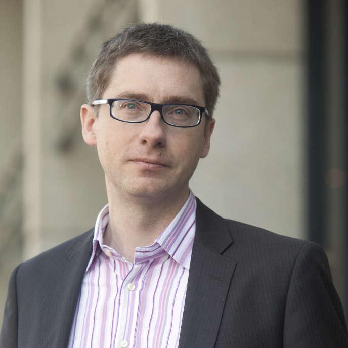 François Germinet, 41 ans, président de l'université de Cergy-Pontoise.