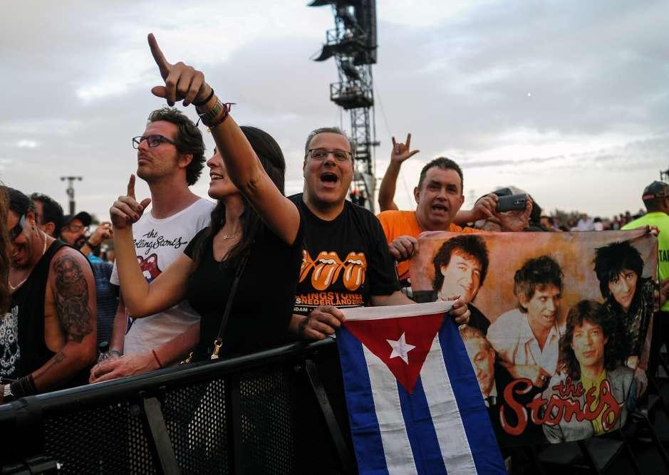 Le groupe britannique était largement attendu dans la capitale cubaine, ce concert historique consacrant le retour en grande pompe du rock dans le pays communiste.