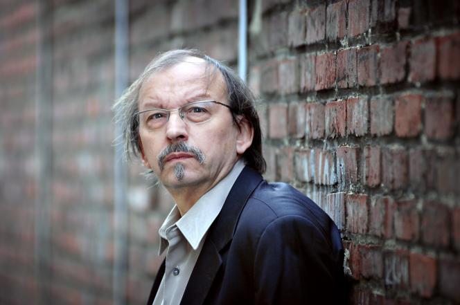 L'écrivain français Didier Daeninckx en 2007.