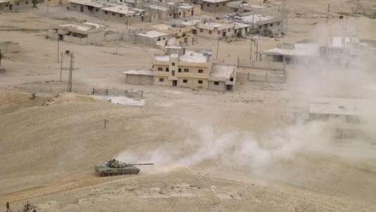 L'armée syrienne a annoncé le 27 mars avoir repris la ville de Palmyre, dans le centre de la Syrie.