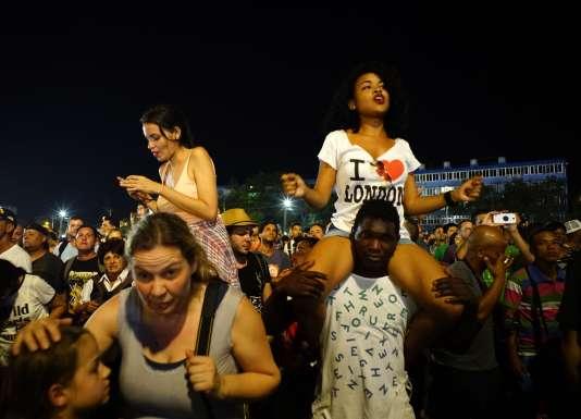 Lors du concert des Rolling Stones à La Havane, Cuba, le 25 mars 2016.