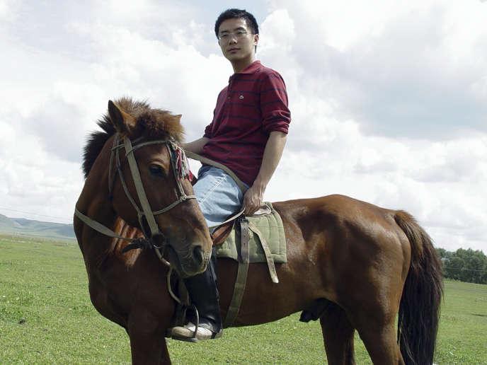 Photo du journaliste chinois Jia Jia datant de 2005.