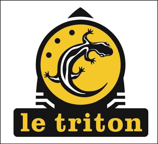 Le logo du club Le Triton aux Lilas (Seine-Saint-Denis).