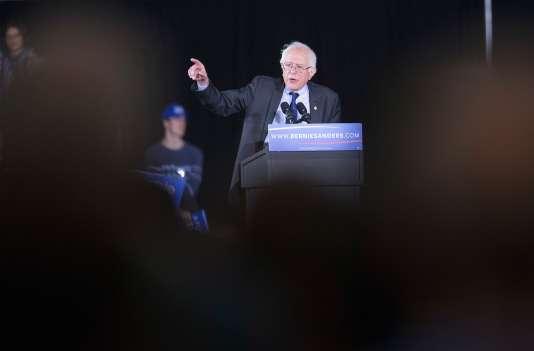 Bernie Sanders à Madison dans le Wisconsin, samedi soir.