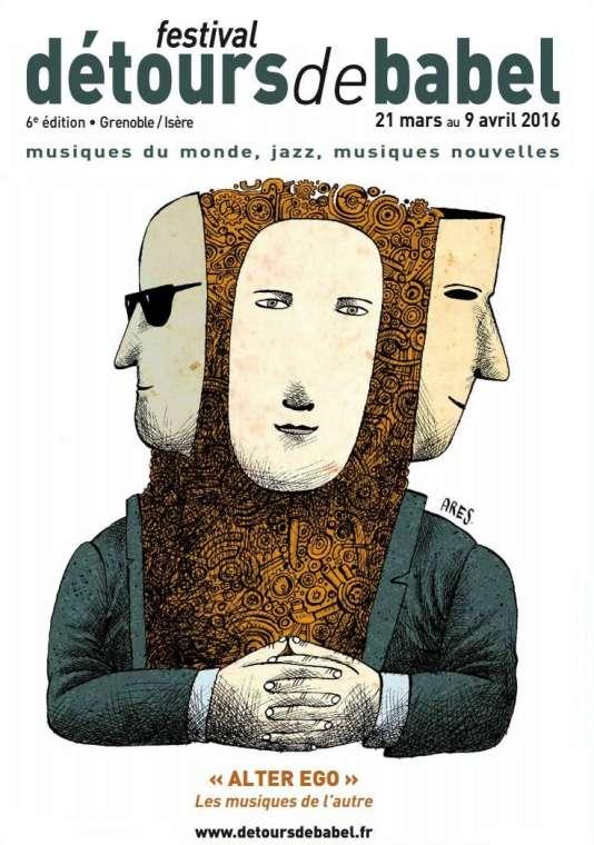 L'affiche du festival Détours de Babel.