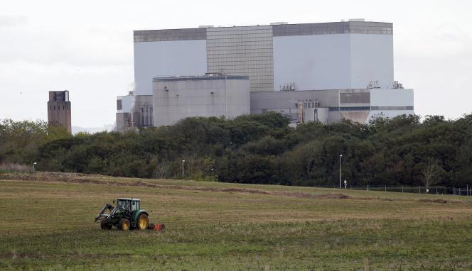 La centrale d'Hinkley Point, près de la ville de Bridgwater, dans le sud-ouest de l'Angleterre.