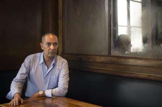 L'écrivain algérien Kamel Daoud, à Marseille, en octobre 2014.