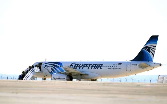Un Airbus A320 de la compagnie EgyptAir.