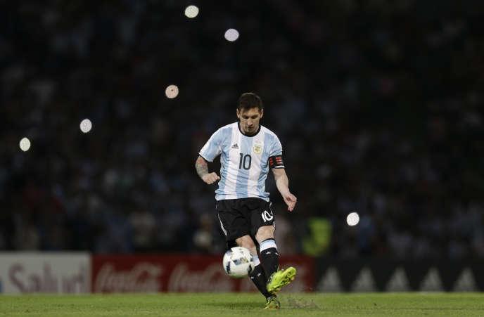 Lionel Messi le 29 mars sous les couleurs de l'Argentine.