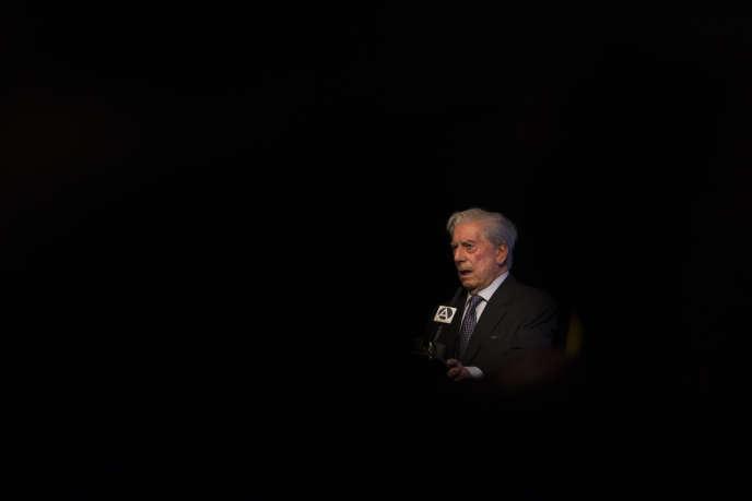 Mario Vargas Llosa en mars 2016.