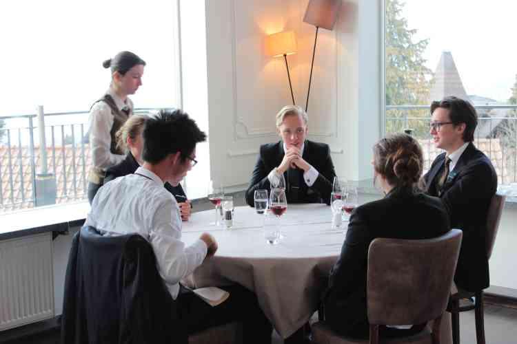 Au restaurant-école l'Hôtel des Alpes, à Glion.