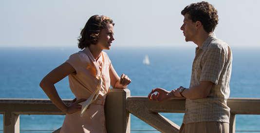"""Kristen Stewart et Jesse Eisenberg dans """"Café Society"""", de Woody Allen, présenté en ouverture du 69e Festival de Cannes."""