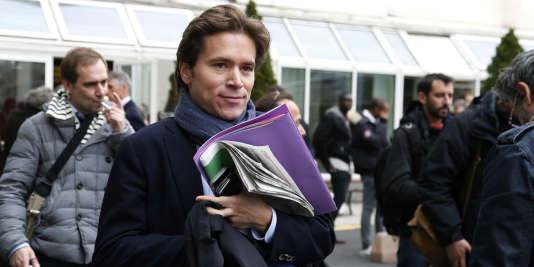 Agé de 39 ans, Geoffroy Didier est un proche de Brice Hortefeux.