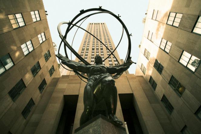 Le Rockefeller Center à Manhattan. Son administrateur Steven Rockefeller fait partie des signataires du