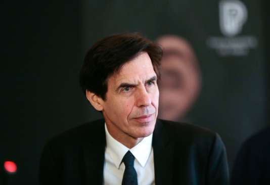 Laurent Bayle, président de la Philharmonie de Paris, le 13 janvier 2015.