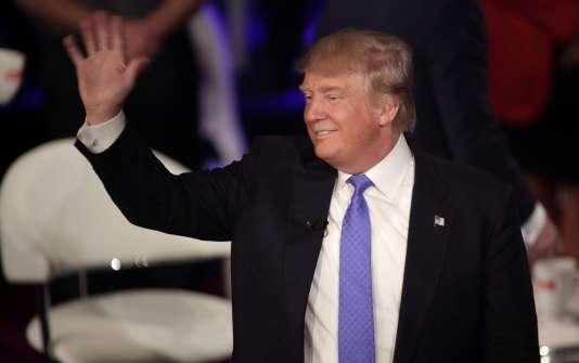Il suffit à Donald Trump de tweeter n'importe quoi pour que cela fasse la «une» des médias.