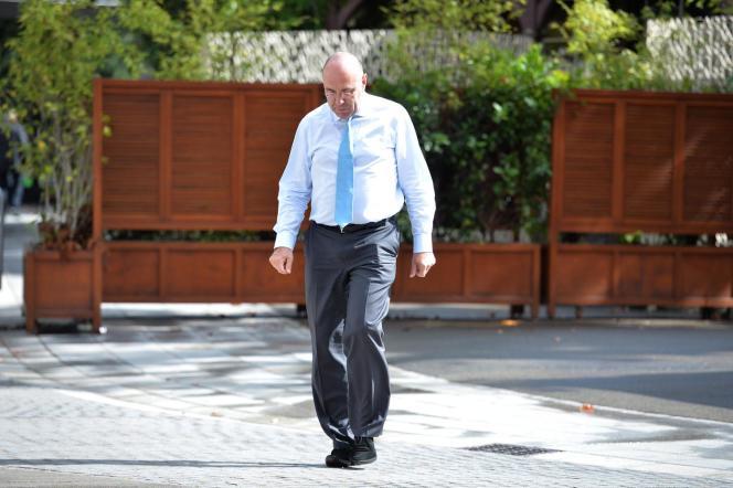 Gilbert Ysern, ex-directeur général de la Fédération française de tennis.