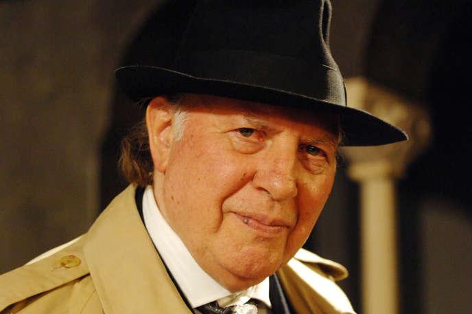 L'écrivain hongrois et prix Nobel de littérature 2002, Imre Kertész, à Augsburg en novembre 2007.