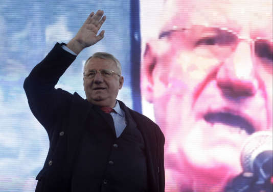 Vojislav Seselj, le 24 mars, à Belgrade.