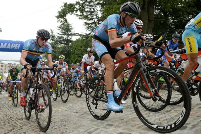 Le Belge Daan Myngheer décédé sur le Critérium international en Corse le 26 mars.