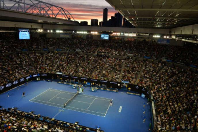 L'Open d'Australie, à Melbourne.