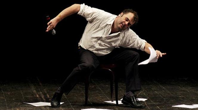 Pippo Delbono au Théâtre des Bouffes du Nord.