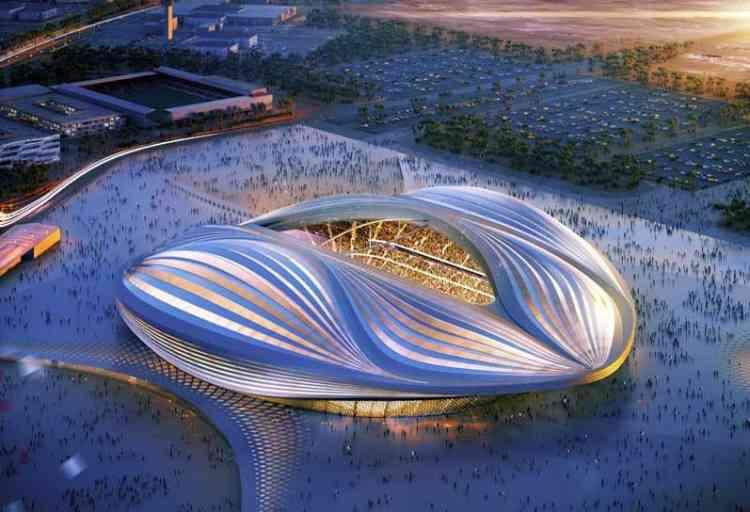 L'Al-Wakrah Stadium est l'un des cinq stades qui accueilleront la Coupe du monde de football de la FIFA en 2022 au Qatar. Ses contours et sa fente centrale lui avaient valu le surnom de «Stade vagin» lorsque les premières images du projet avaient été dévoilées, en 2013. Sa jauge est de 45 120 places, et son coût a été estimé à 300 millions d'euros.