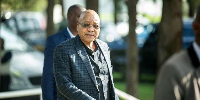 Le président sud-africain Jacob Zuma, le 18 mars, à Centurion, en Afrique du Sud.