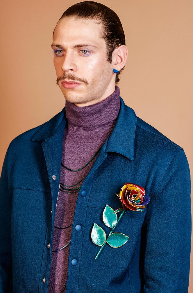 Pour sa collection homme automne-hiver 2016-2017, Pigalle emprunte à la haute couture son savoir-faire artisanal.