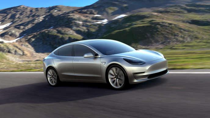 La Tesla Model 3 affiche un prix plancher de 31000 euros.