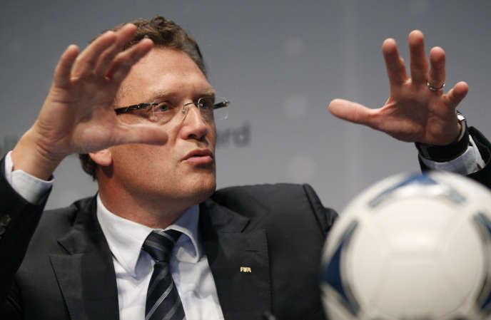 Jérôme Valcke, en 2012.