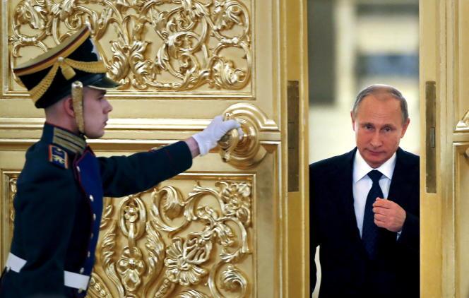 Vladimir Poutine, le 1eroctobre.
