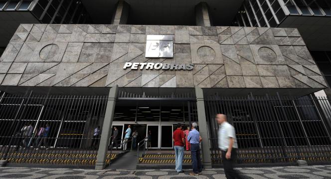 Le siège de Petrobras à Rio de Janeiro, au Brésil.