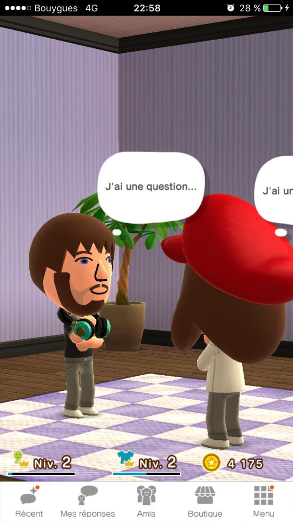Miimoto est une application de questions-réponses.