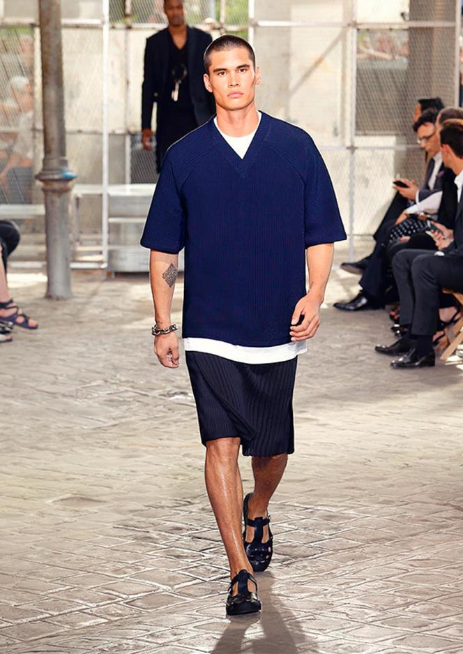 La jupe chez Givenchy.