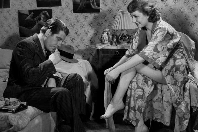 Jean Gabin  et Viviane Romance dans  «La Belle Equipe».
