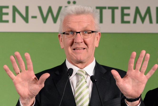 Winfried Kretschmann, le 13 mars 2016.