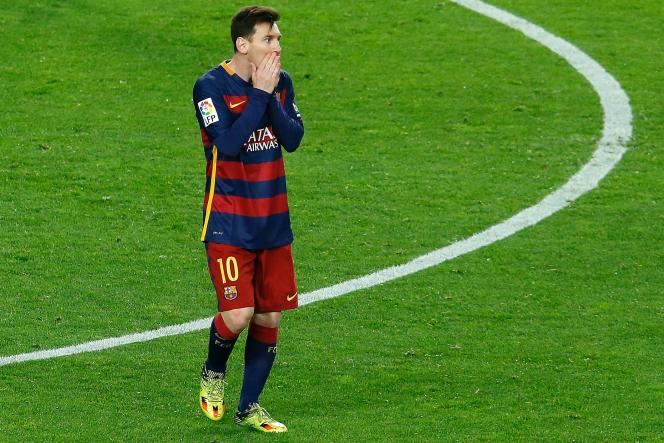 Lionel Messi, lors d'un