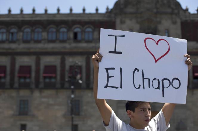 A Mexico, le 1er avril, un fan de