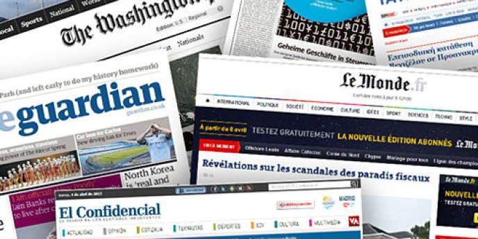 Trente-six médias sont partenaires de l'enquête internationale sur les paradis fiscaux