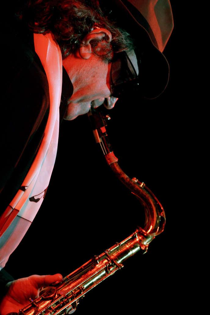 Gato Barbieri le 15 septembre 2006 à Saint-Domingue, en République dominicaine.
