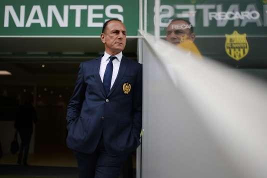 Michel Der Zakarian était l'entraîneur du FC Nantes depuis 2012.