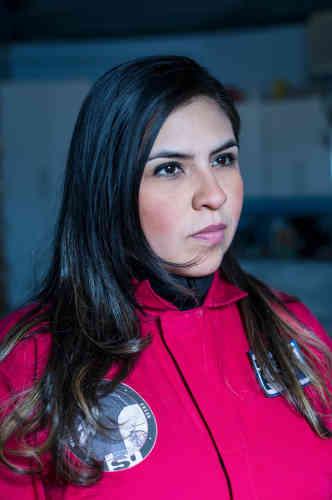 Carmen Felix, Mexicaine, est venue vivre sa passion pour l'exploration spatiale… les deux pieds sur Terre.