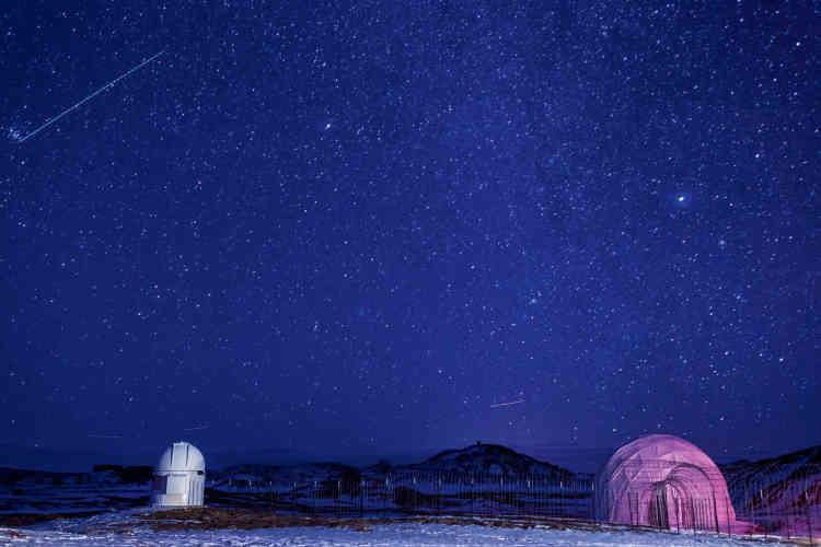 Le désert de l'Utah est le lieu idéal pour observer le ciel, car c'est le moins pollué au monde.