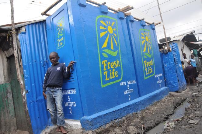 Depuis 2011, Sanergy a installé 625 toilettes Fresh Life dans les bidonvilles de Nairobi.