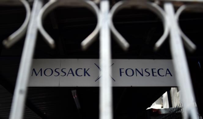 Le siège du cabinet Mossack Fonseca à Panama City, le 4 avril.