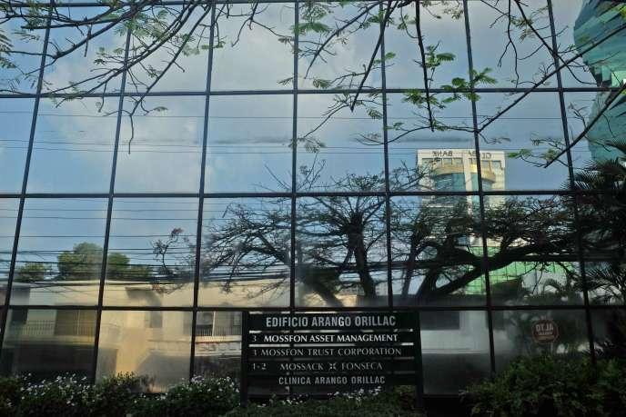L'immeuble où se situent les bureaux de Mossack Fonseca à Panama, le 3 avril 2016.