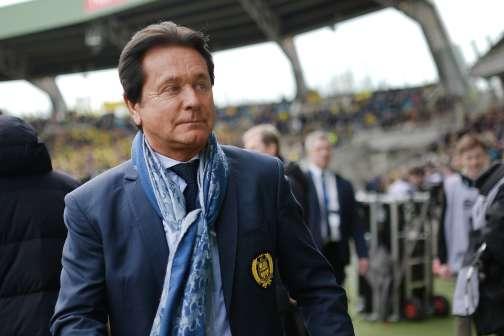 Waldemar Kita, président du FC Nantes, au stade la Beaujoire, le 3 avril.